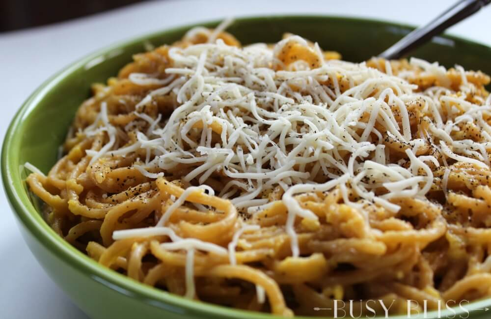 This recipe for Peasant Pasta is done in less than 15 minutes and can be served as a meatless main course or as an easy side. The result is a simple pasta dish that you can make with ingredients you likely already have in your pantry.