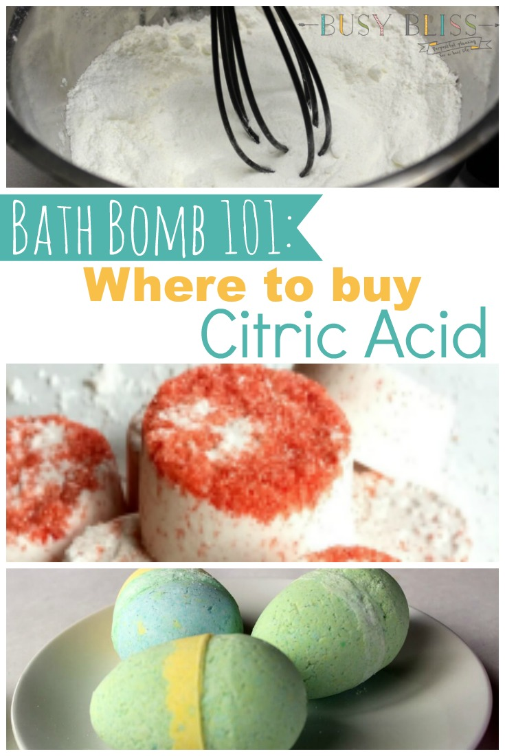 Where to Buy Citric Acid for Bath Bombs-What You Need to Know - Busy ...