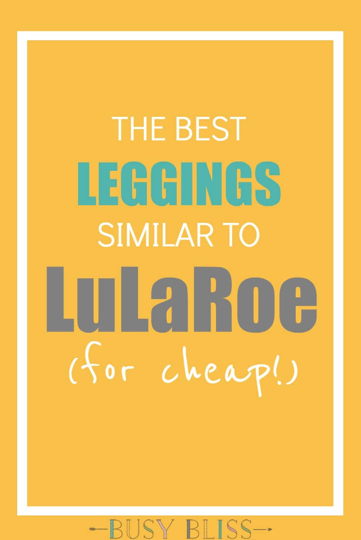 The Best Leggings Similar to LuLaRoe for Cheap