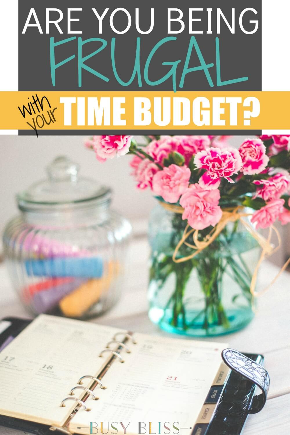 Most of us are well aware of the concept of budgeting and frugality in the sense of money management, but have you ever thought about applying thriftiness to your time budget?