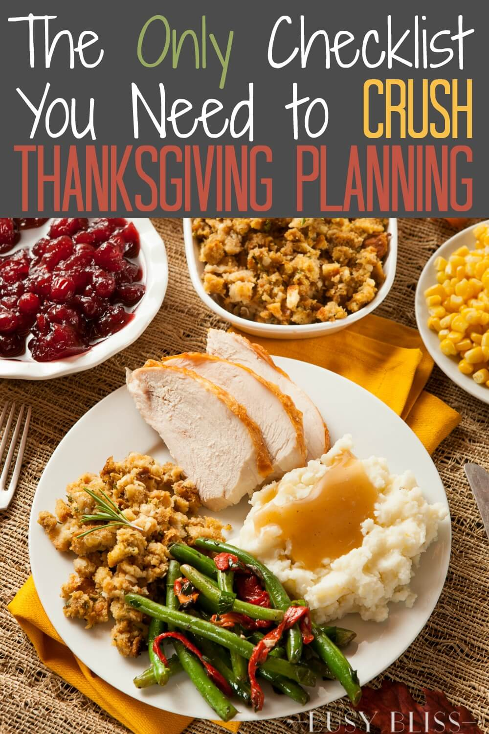The Thanksgiving countdown is on! Grab your Thanksgiving planner checklist and plan ahead with tips and a timeline to crush your Thanksgiving planning.