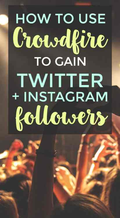 How to use Crowdfire to grow your Twitter and Instagram accounts.