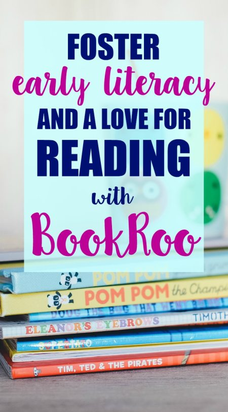Want to foster early literacy and a love for books in your child? Start now! Help your child learn how to read and love doing it with BookRoo.