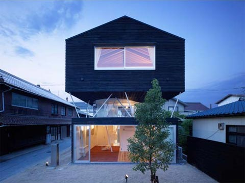 The House On Stilts Anatomy Japanese Architecture