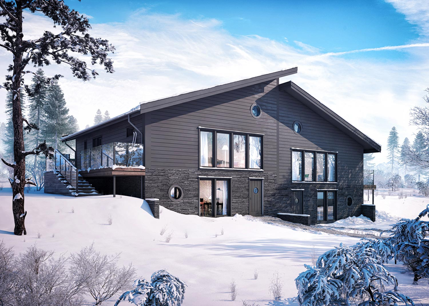 Bjrnen Chalet Ski In Ski Out Beautiful Interiors