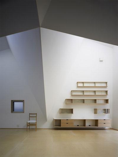 House In Kohoku An Inhabitable Concrete Origami Small