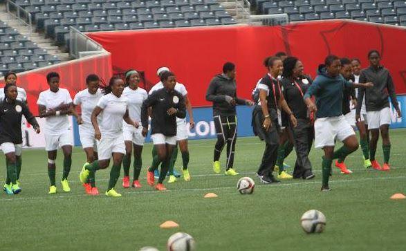 Super-Falcons-of-Nigeria-Battle-Austria-in-Cyrus-Women-Cup-BusybuddiesNg