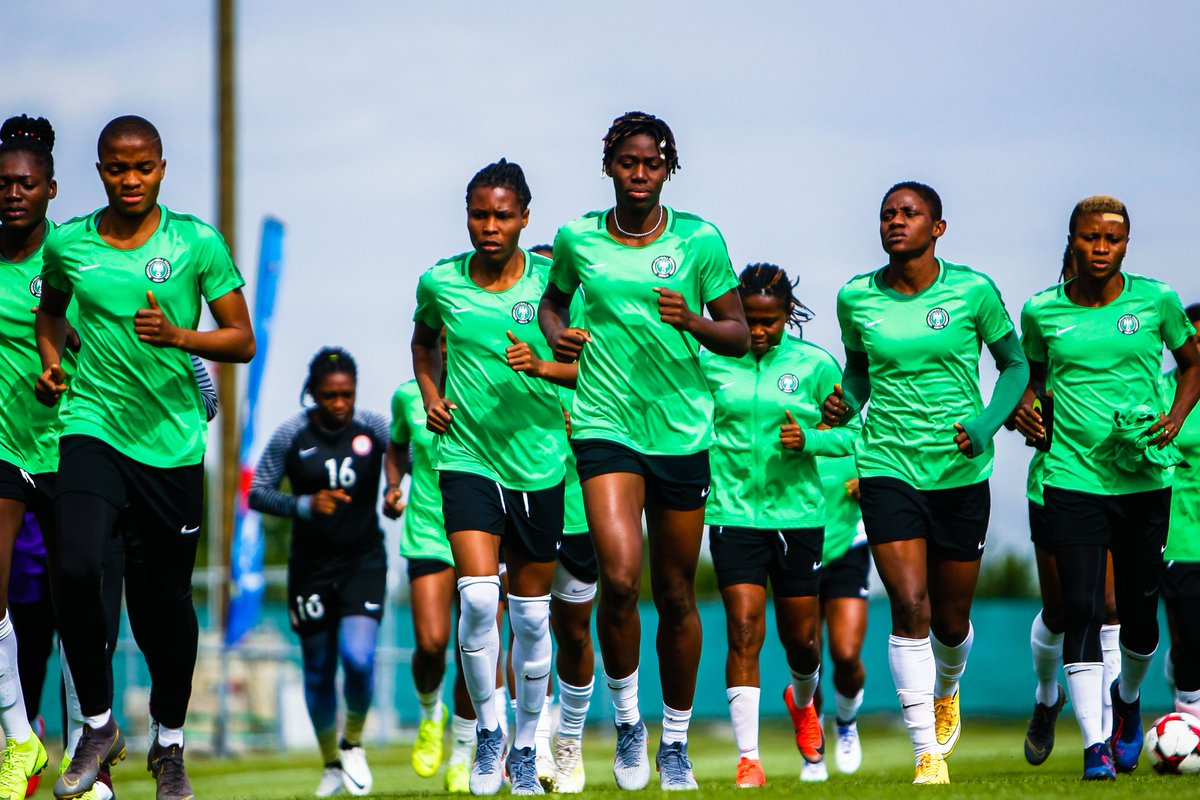 2020 Olympic Qualifiers: Super Falcons Intensify Training Ahead Of Clash With Cote D' Ivoire