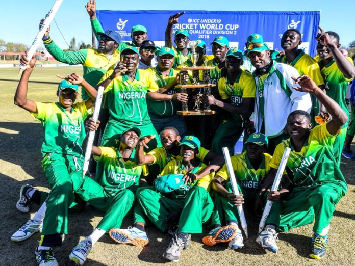 Nigeria U19 Win Cricket World Cup Qualifiers