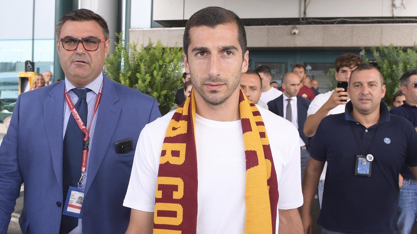 Henrikh Mkhitaryan Roma Kenyan Italian Twitter Armenian Arsenal