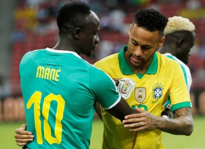 Mane Neymar Brazil Senegal busybuddiesng