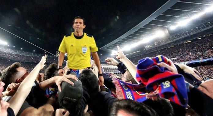 Deniz-Aytekin-UEFA-Admits-Referee-Aided-Barcelona-UCL 6-1-Comeback-Vs-PSG