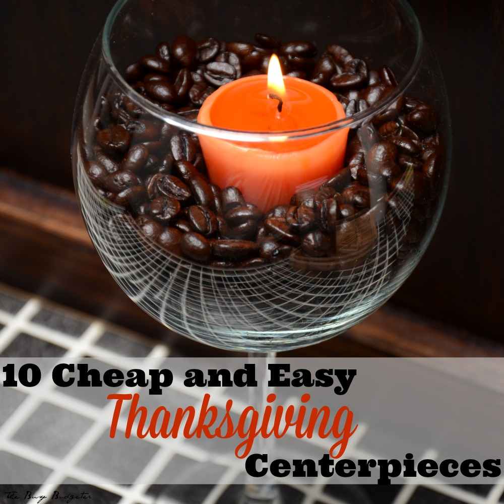 10 easy inexpensive thanksgiving