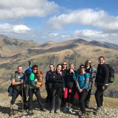 3 Peak team group Snowdon