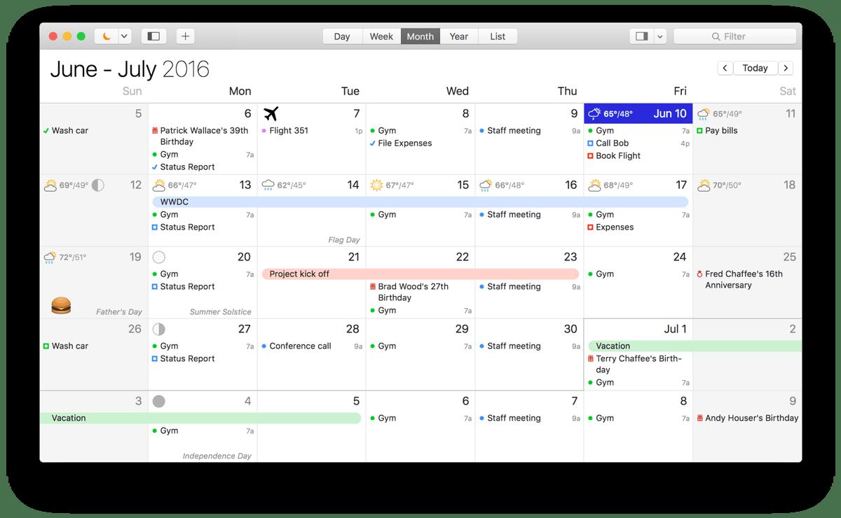 BusyCal 2021.3.1 Mac 破解版 - 优秀的任务日历工具