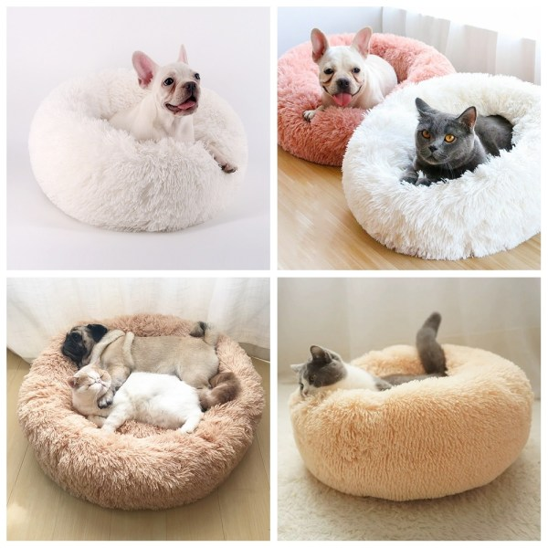 Calming Dog Pet Bet Anti-Anxiety Soothing Cat Beds