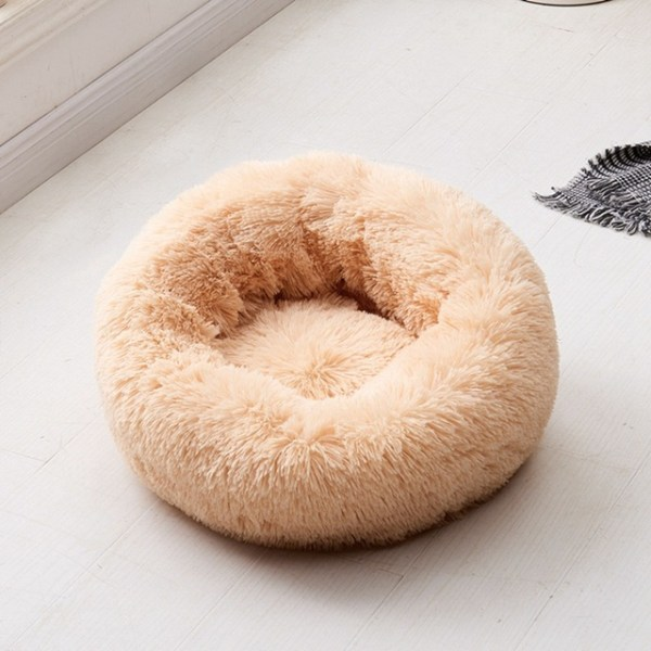 Calming Dog Pet Bet Anti-Anxiety Soothing Cat Beds Khaki