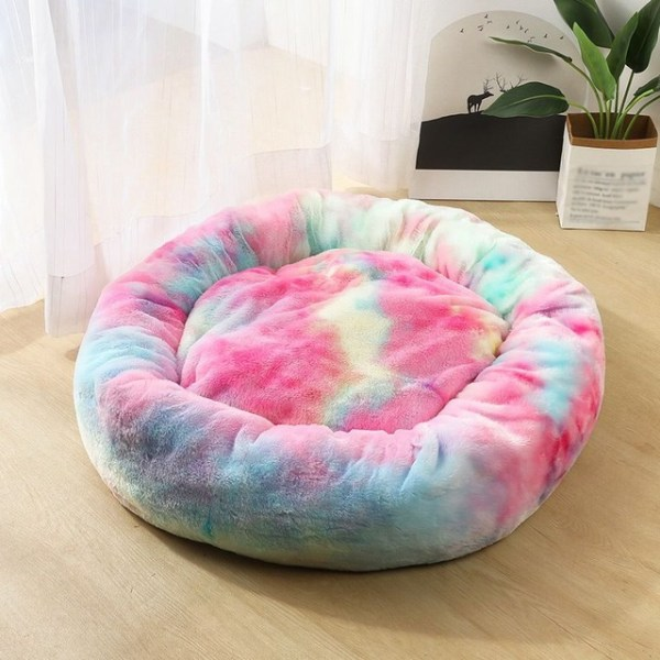 Calming Dog Pet Bet Anti-Anxiety Soothing Cat Beds MultiColor B