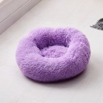 Calming Dog Pet Bet Anti-Anxiety Soothing Cat Beds Purple