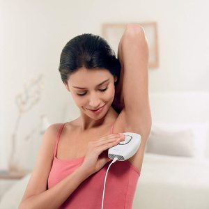 IPL Laser Permanent Hair Removal At Home Handset - Model Under Arm