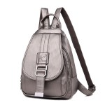 Leather Convertible Backpack Purse Anti Theft Crossbody Bag Bronze