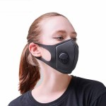 Reusable Face Mask Antibacterial Virus Protection Mask Model Girl
