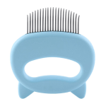 Cuddly Cat Comb Hair Remover Blue