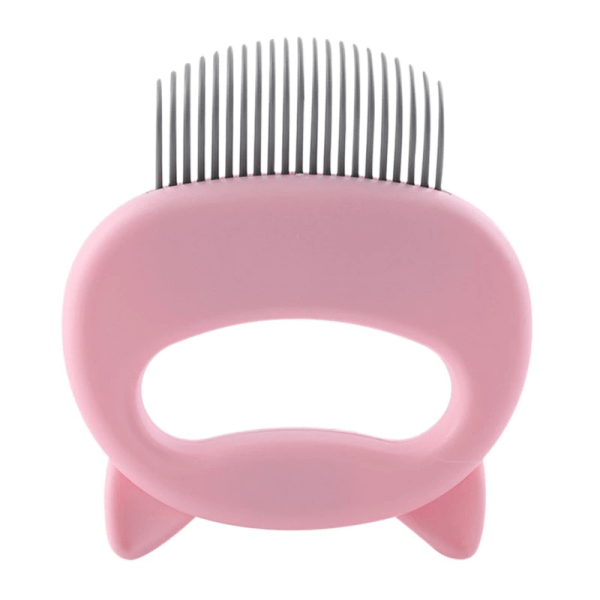 Cuddly Cat Comb Hair Remover Pink