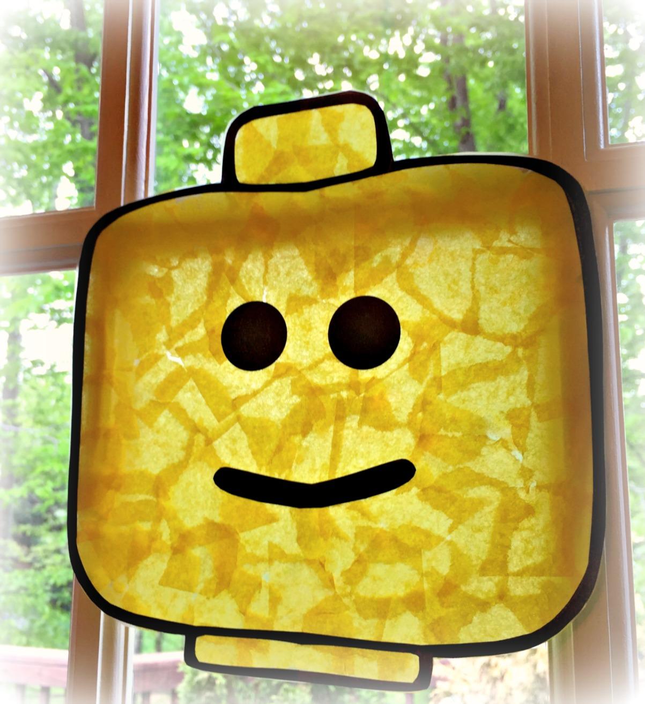 How To Make A Lego Sun Catcher