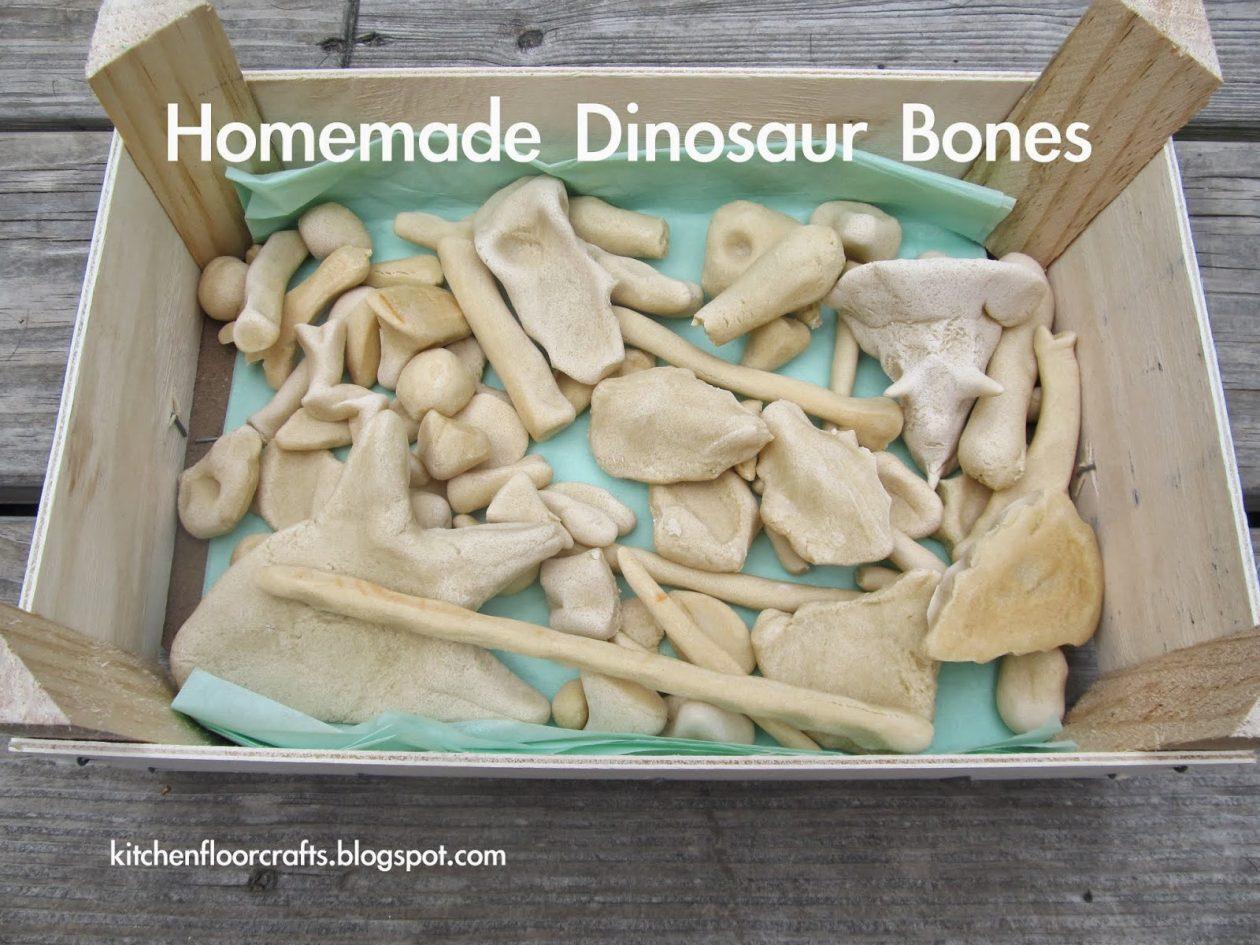 Make Your Own Dinosaur Bones