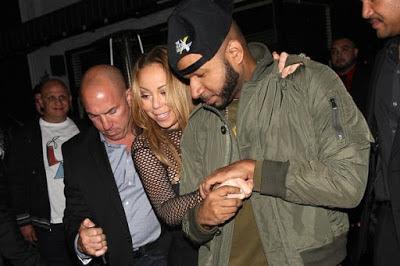 Mariah Carey rocks see-through dress (Photos)