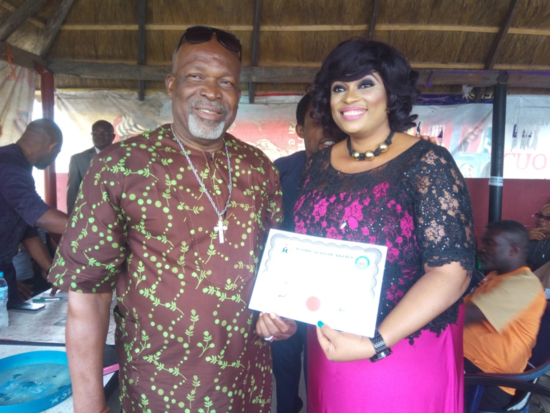 'No victor, no vanquish', Nneoma Ukpabi pleads, as Emeka Rollas swears in Imo AGN exco