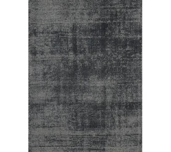 tapis erased gris fonce 200 x 300 cm