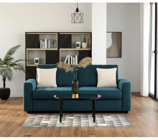 tapis 120x170 geo gris bleu