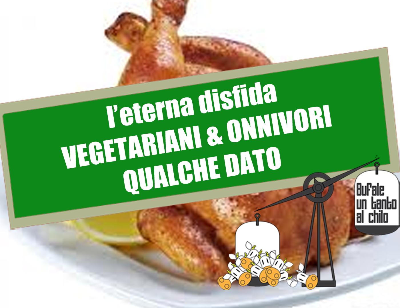 carnivoro che risale un vegetariano