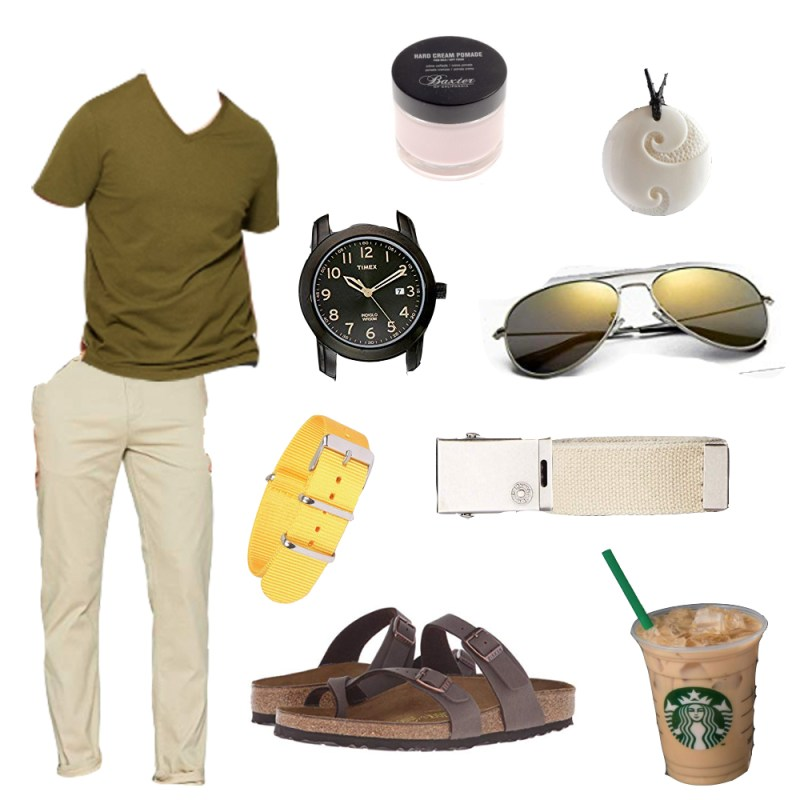 spring style collage