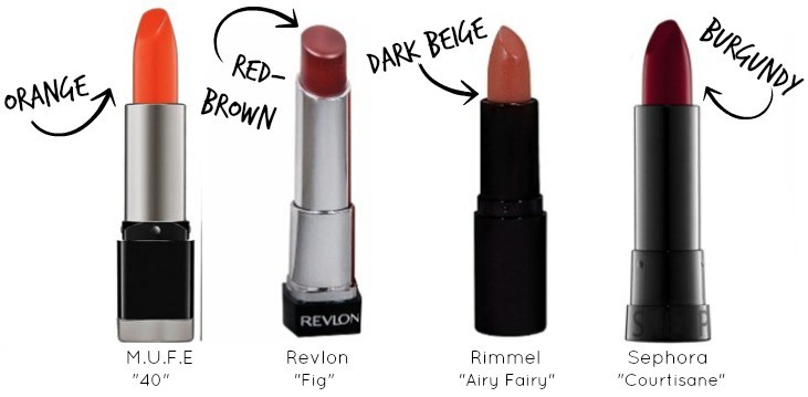 Lipstick for Dark Skin | How to choose the perfect lipstick color