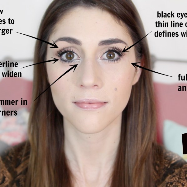 How to make eyes appear larger - make your eyes pop