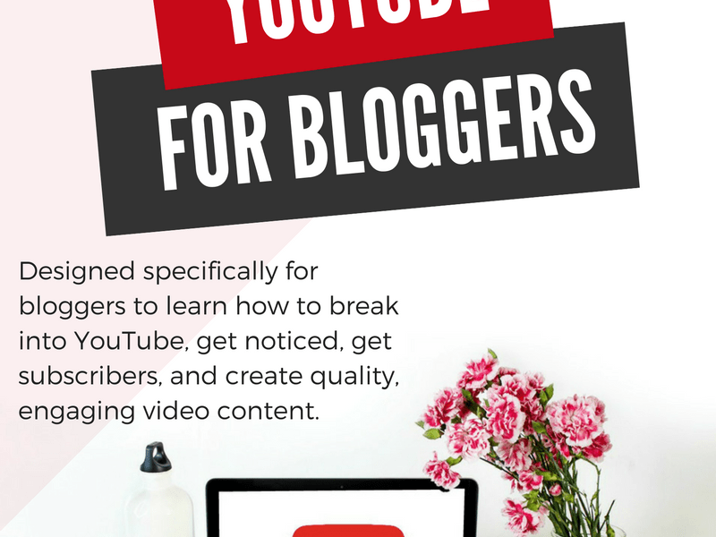 YouTube For Bloggers | A Free Webinar