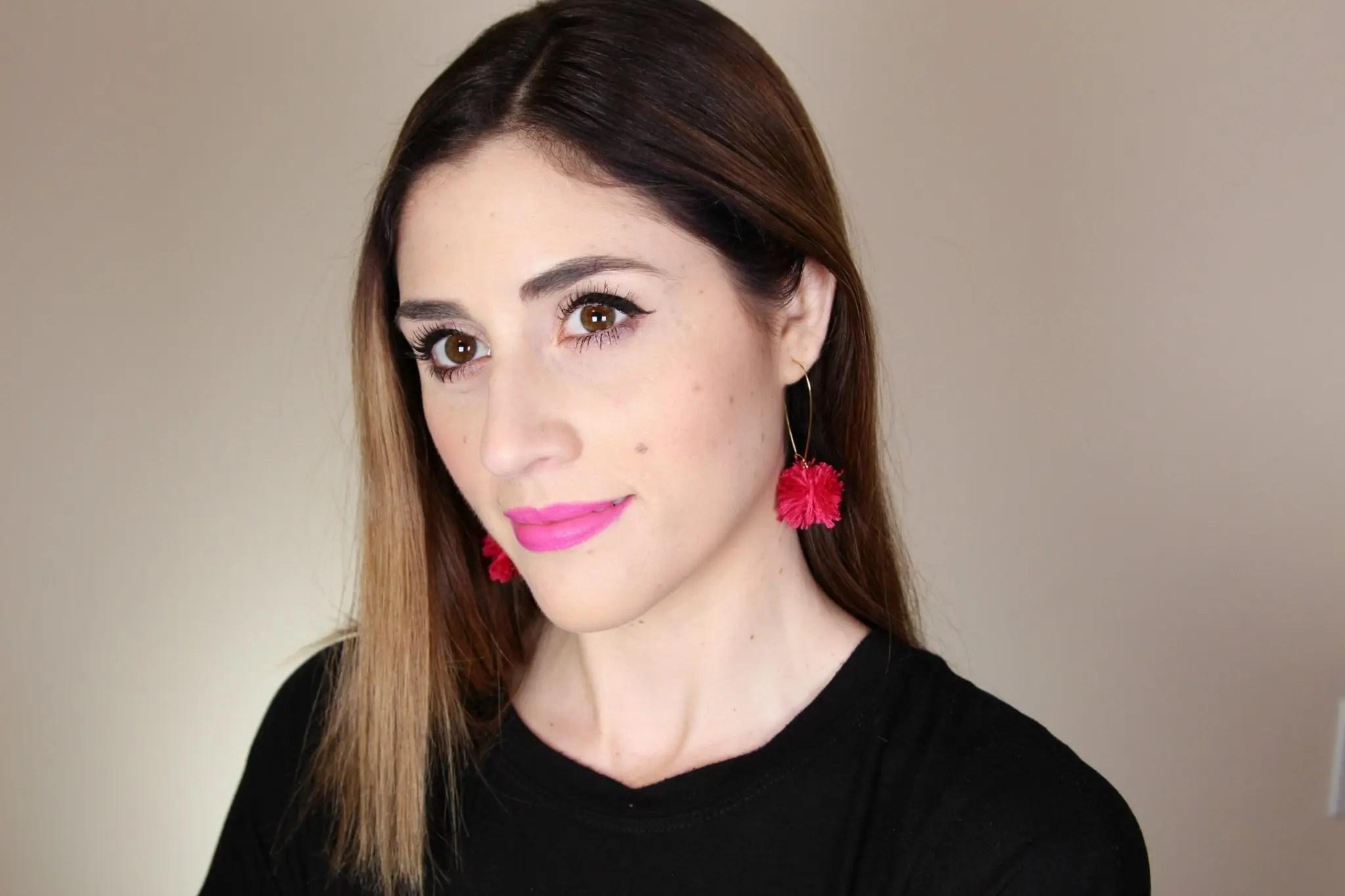 DIY Pom Pom Earrings   How to Make fun pompom earrings