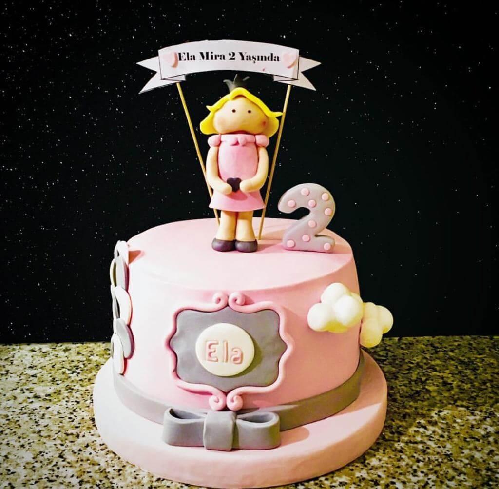 kız çocuk pastası