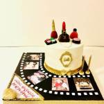 fotoğraflı pasta