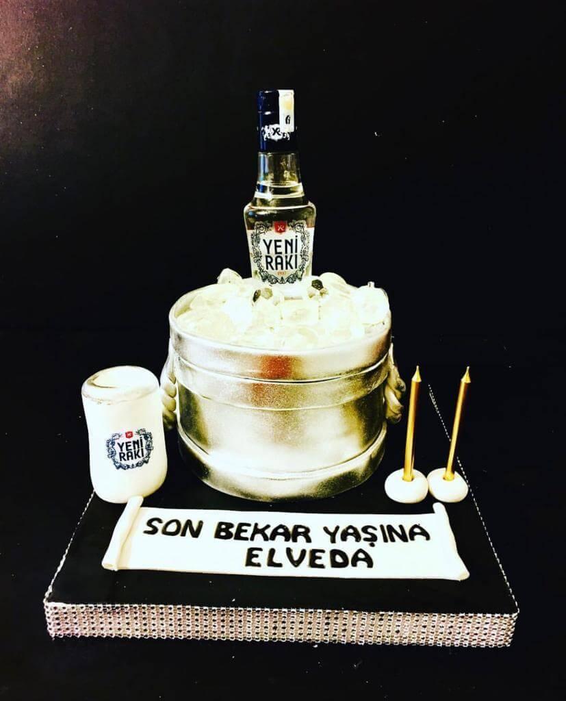 rakılı pasta