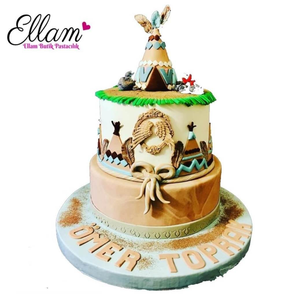 kılızdereli temalı butik pasta