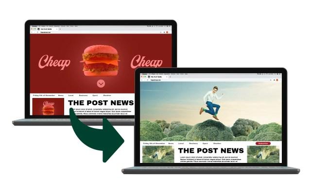 Ny adblocker döljer snabbmatsreklam
