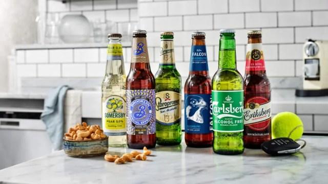 Full fart för alkoholfri öl