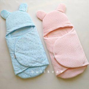 Yenidoğan Bebek Çıtçıtlı Fluffy Kundak Battaniye 0 6 ay 01 scaled - Erkek Bebek Çıtçıtlı Fluffy Kundak 0-6 ay mavi
