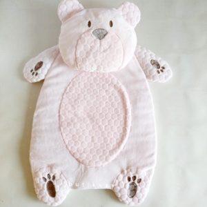 bebitof kiz bebek alt acma minder seti pelus ayi pembe 01 scaled - Bebitof Kız Bebek Alt Açma Minder Seti Peluş Ayı - pembe