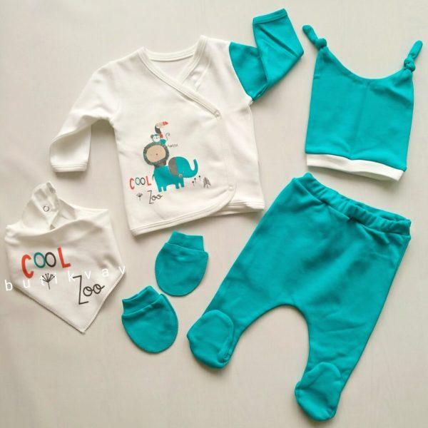 erkek bebek cool zoo 5 li hastane cikisi kopya 01 scaled - Erkek Bebek Cool Zoo 5'li Hastane Çıkışı