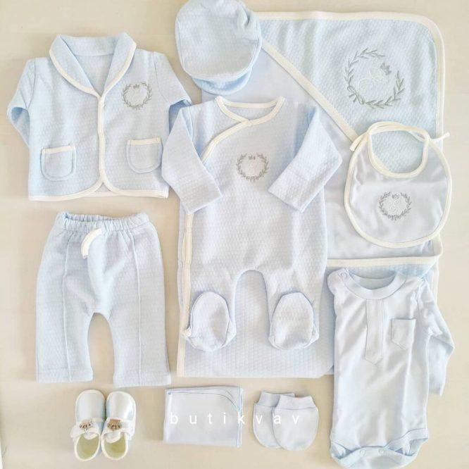 gaye bebe erkek bebek trafik islemeli 5 li hastane cikisi gri 03 scaled - Eda Baby Erkek Bebek Kapitoneli 10'lu Hastane Çıkışı